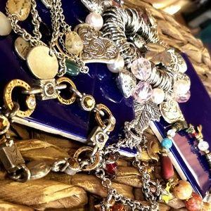 Jewelry - LOT of FIVE Charm Bracelets